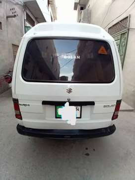 Make sazuki modal Bolan KMS driven 33800 euro year 2014 registr Lahore