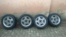 "Rays Engineering 15"" alloy wheels for sale"