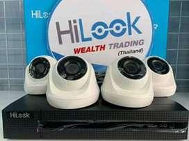 kamera CCTV full hd bisa online via hp// gunung putri