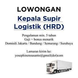 Kepala Supir Logistik (HRD)
