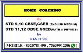 Personal Home tuition / online classes