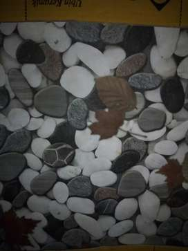 Keramik motif batu alam