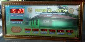 Jam digital Masjid Musholla Murah Bergaransi