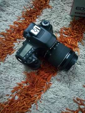 Canon 80d with 18-55mm brand new complete box