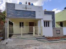 DTCP Approval 70 Ft Road 2bhk  house sal in Thanjavur 99,44,66 517,4