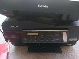 Dijual printer mesin hidup,penampkan seperti di foto