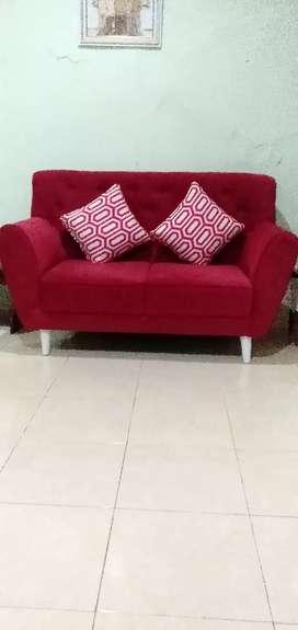 sofa Retro 2 dudukan kondisi 99 PC mau pindah rumah
