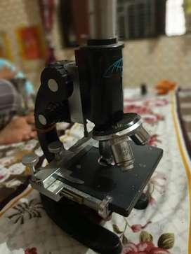 Medical lab: Clinic Microscope & blood centrifuge machine