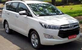 Toyota Innova Crysta for rent