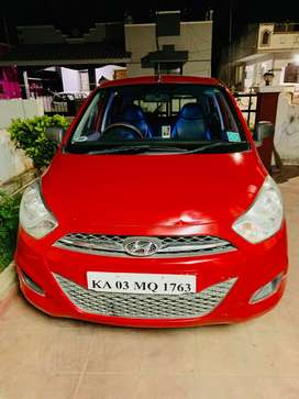Company maintained i10 (cng/petrol) for sale