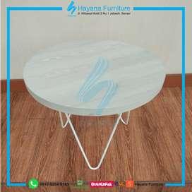 Meja Cafe / Coffe Table Laminated PVC Sheet (CT 1811)