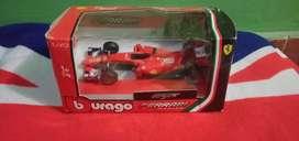 Diecast model mobil F1 Ferrari no 5 kondisi seken mulus