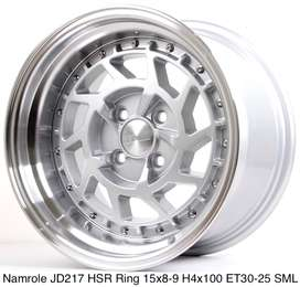 NAMROLE JD217 HSR R15X8 H4x100 ET30 SML