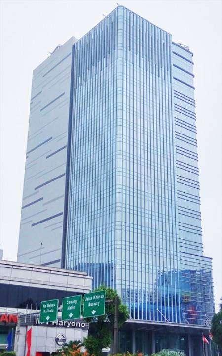 sewa ruang kantor New Building di area Cawang