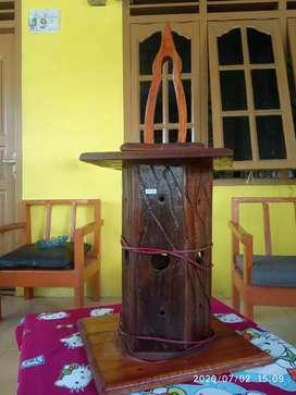 Hiasan Lampu tidur  kayu