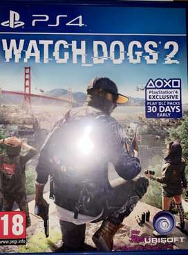 PS4 games Watch dog 2