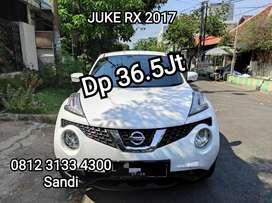 Nissan juke 1.5 RX Matic AT 2017 pmk 2018 Surabaya putih #san