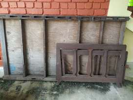 Wooden cot in excellent condition for sale