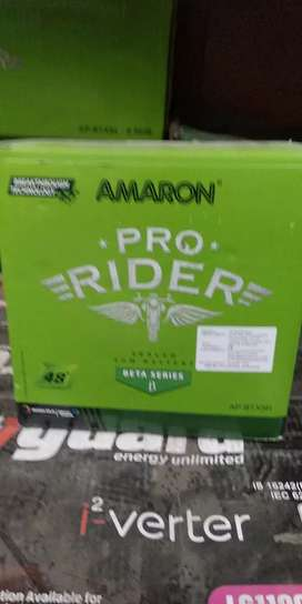 AMROn Pro Rider 48 both Warranty Bike Bettry