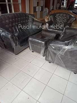 Kursi tamu sofa dan meja