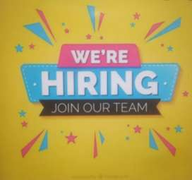 Required sales and marketing executive with experience.