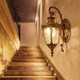 Promo lampu dinding lampu tempel lampu pagar lampu outdor dinding