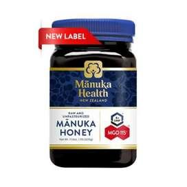 Madu Manuka Health honey ASLI MGO 115 500gr. Grab it fast