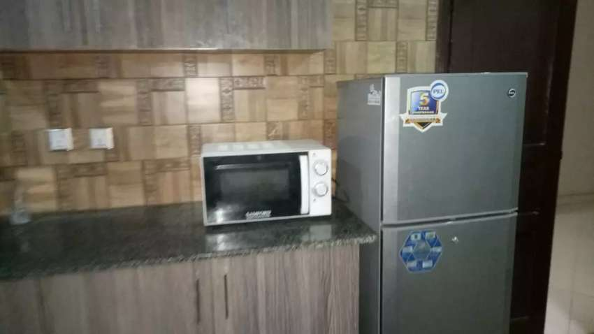 E 11 /2 loaction near NPF Road 1bed Flat Furnished uavailable 0
