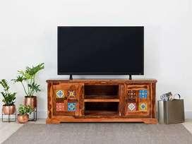 Oliver TV unit in Teak Finish