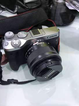Canon M6 KIT 15-45MM IS STM MURAH SECOND