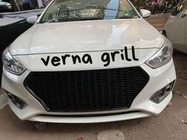 New Hyundai verna front grill in best price.Call us for car accessorie