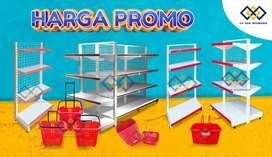 Jual Rak Supermarket Murah Rak Toko Rak Minimarket
