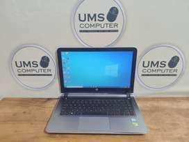 Laptop HP Pavilion 14-ab133TX Core i7-6500U Dual VGA Gaming Grafis