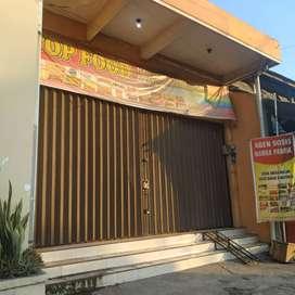 kontrakan/sewa/jual ruko depan pasar jalan raya Pantura strategi