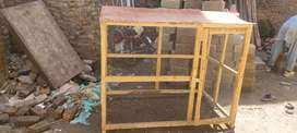 Bird and dog cage for sale 5 feet lenth and 4 feet wigth