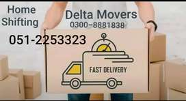 Delta movers & packers Pvt Ltd. (RWP) Home shifting / Relocations