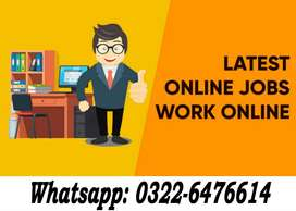 Online Part Time/Full time/Home Base Job in Lahore