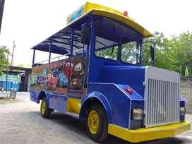 kereta mini wisata mainan kuda genjot  DZ