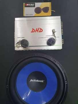 1 Set Paket Sound Hemat Bass Mantap