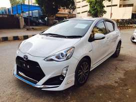 Toyota Aqua 2015 On Easy Monthly Installment.