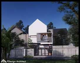 Jasa arsitek, design, gambar, &bangun rumah tinggal, ruko, kos2an, dll