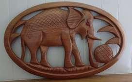 Hanging elephant decorations