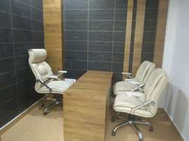 Fully furnished office space available for rent in indirapuram