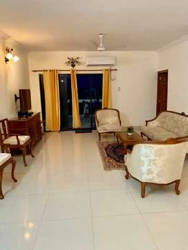 3bhk spacious fully furnished Penthouse open terrace at Dona Paula