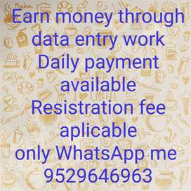 Part time or Free time no targets/ no limits 24 hours work huge paymen