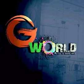 Posters, logo,banners, brochures,flyers, website design at best price