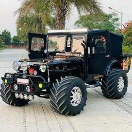 Jeeps gypsy Thar Hunter Willys modifed jonga jeeps