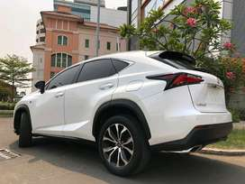 Lexus NX200T F-Sport 2016 White On Black Km40rb Record Sunroof 4Cam