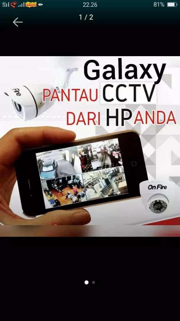 Paket komplit kamera CCTV Tanah Abang 0