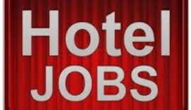 Gat salary up to 45000 in five star(5*) hotal job